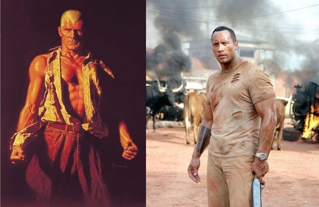 doc savage dwayne johnson