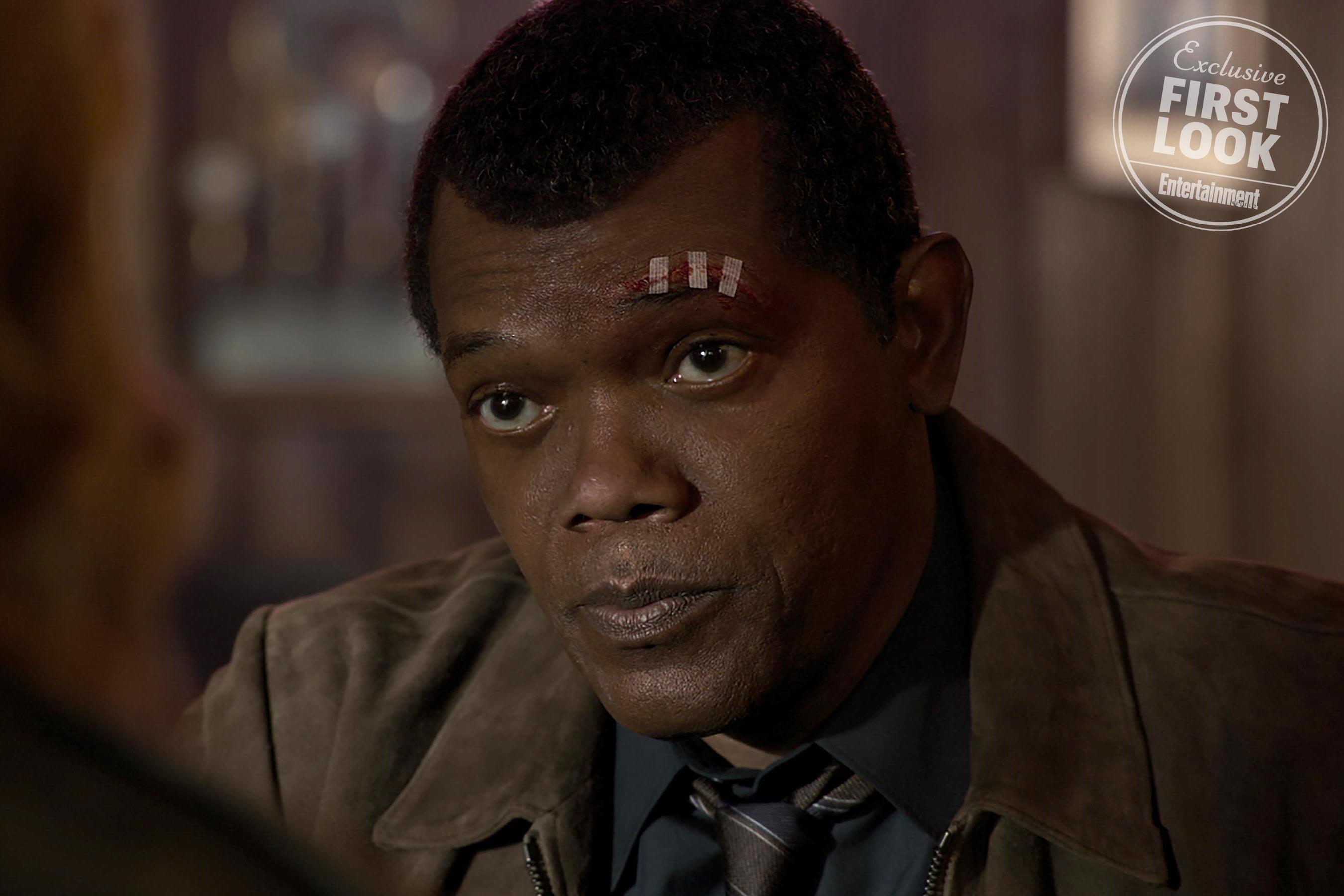 Marvel Studios' CAPTAIN MARVEL Nick Fury (Samuel L. Jackson)