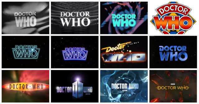 doctor who logos